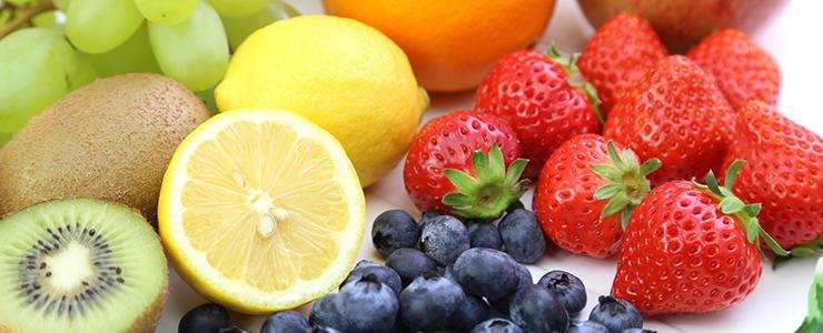 ビタミンの多い果物